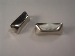 Pyramid Rectangle Studs 3/4 Bag of 100