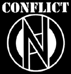 CONFLICT - Logo - Back Patch