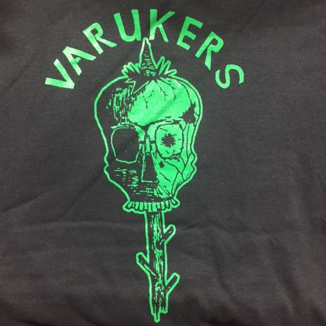 Varukers - Green Skull - Shirt