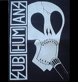 Subhumans - Skull - Hooded Sweatshirt