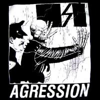 AGRESSION - Skull Cop - Back Patch