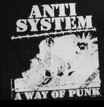 ANTI-SYSTEM - A Way of Punk - Patch
