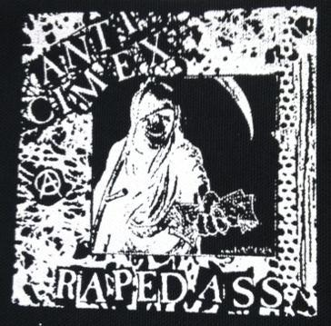 ANTI CIMEX - Raped Ass - Patch