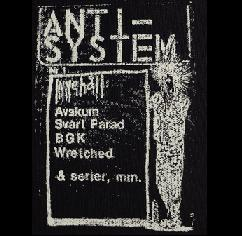 ANTI-SYSTEM - Flyer - Patch