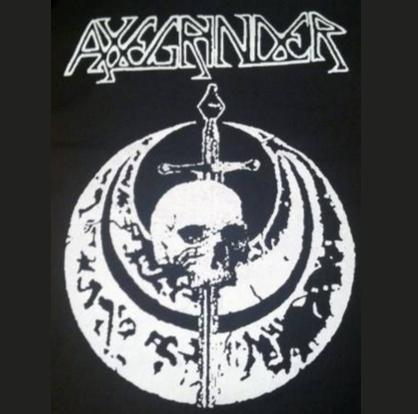 AXEGRINDER - Sword - Back Patch
