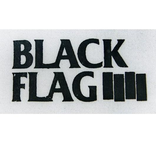 BLACK FLAG - Name + Bars - Patch