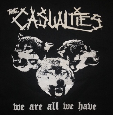 CASUALTIES - We Are All We Have - Back Patch