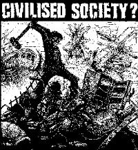 CIVILISED SOCIETY? - Patch