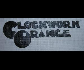 CLOCKWORK ORANGE - Name - Patch