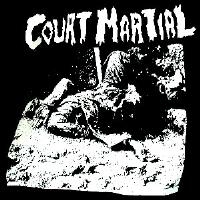 COURT MARTIAL - Back Patch