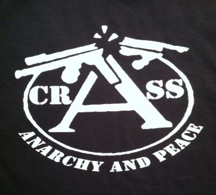 Crass - Anarchy And Peace - Shirt