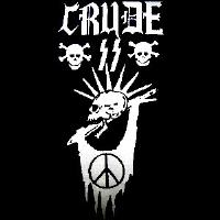 Crude SS - Skull Peace - Shirt
