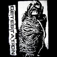 Detestation - Skeleton - Hooded Sweatshirt