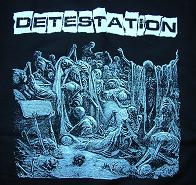 Detestation - LP cover - Hooded Sweatshirt