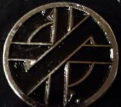 Crass - Symbol - Metal Badge