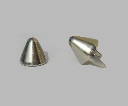British Tall Cone Studs - Bag of 100