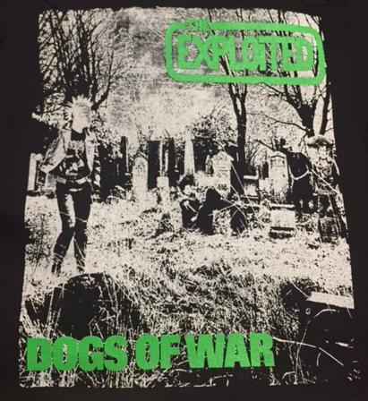 EXPLOITED - Dogs of War - Back Patch