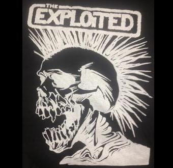 Exploited - Skull - Hooded Sweatshirt