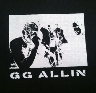 GG ALLIN - Singing - Patch