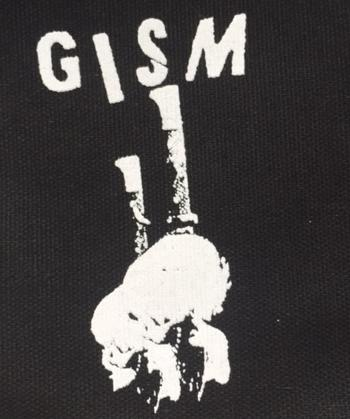 GISM - Knife Skull - Patch