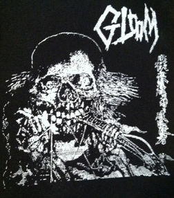GLOOM - Skull - Patch