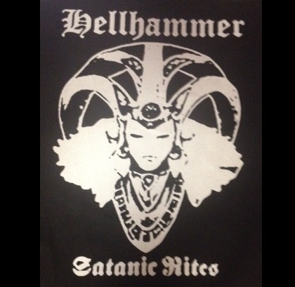 HELLHAMMER - Satanic Rites - Back Patch