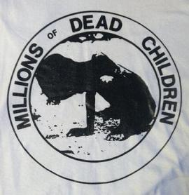 MDC - Dead Children (black on white) - Shirt