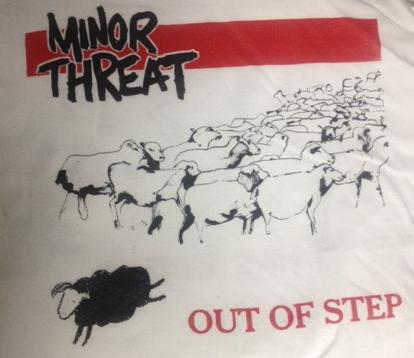 Minor Threat - Out of Step Red - Shirt
