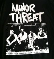 Minor Threat - Top Logo - Shirt
