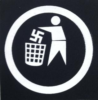 NAZI TRASH - Patch