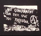 NO GOVERNMENT - Patch