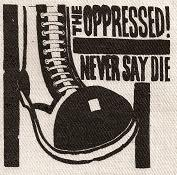 OPPRESSED - Patch
