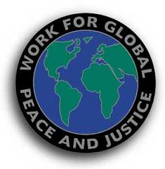 Work For Global Peace And Justice - Sticker