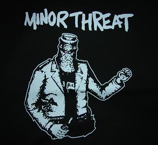 MINOR THREAT - Bottled - Back Patch