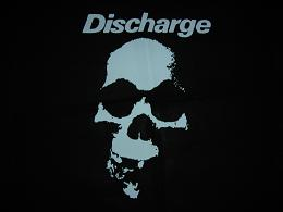 DISCHARGE - Skull - Back Patch