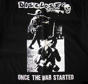 Disclose - Once The War Started - Hooded Sweatshirt