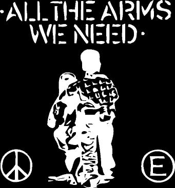 Flux Of Pink Indians - All The Arms - Shirt