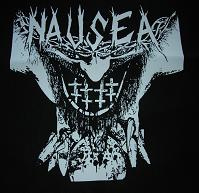 Nausea - Cross - Hooded Sweatshirt