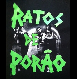 RATOS DE PORAO - Band - Back Patch