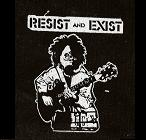 RESIST AND EXIST - Gas Mask - Patch