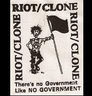 RIOT CLONE - Flag - Patch