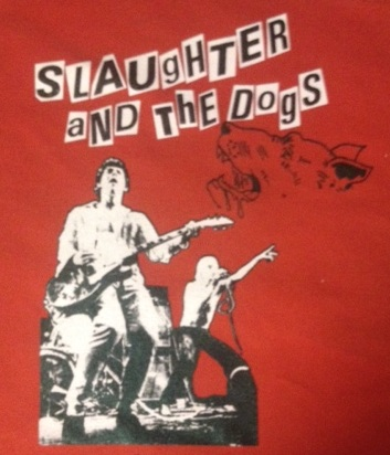 SLAUGHTER AND THE DOGS - Red - Back Patch