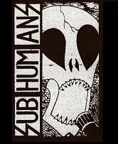 SUBHUMANS - Skull - Patch