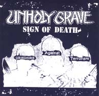 Unholy Grave / Iron Butter - Split 7""